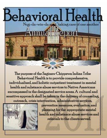 2011 Annual Report - Saginaw Chippewa Indian Tribe of Michigan