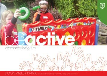 affordable family fun - East Ayrshire Council