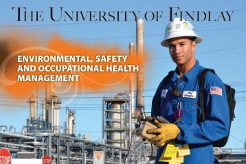ENVIRONMENTAL, SAFETY AND OCCUPATIONAL HEALTH ...