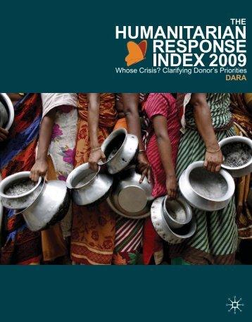 HRI 2009 Haiti Crisis Report - DARA