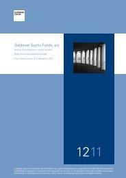 Goldman Sachs Funds, plc États financiers annuels