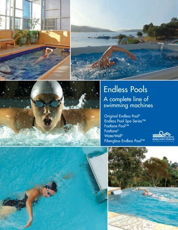 Endless Pools Complete Line - Classic Pool and Spa