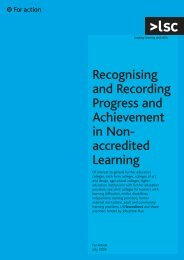 Recognising and recording progress and achievement in non ...