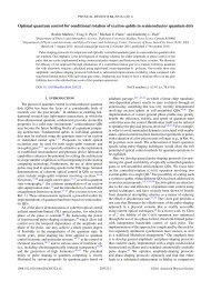 Optimal quantum control for conditional rotation of exciton qubits in ...