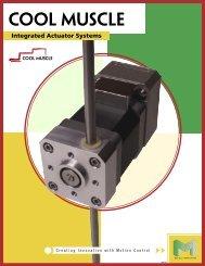 Integrated Actuator Catalog - Myostat