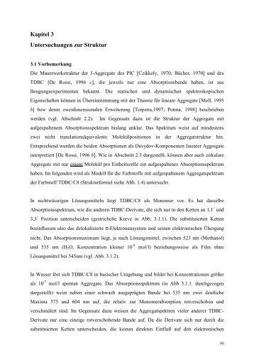 Kapitel 3 Untersuchungen zur Struktur