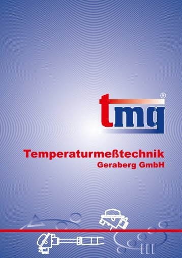Der Gesamtkatalog - Temperaturmeßtechnik Geraberg GmbH