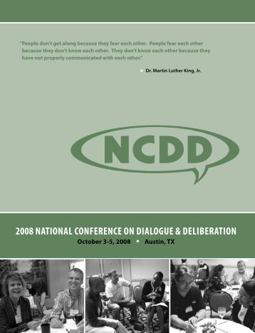 Download the 2008 Guidebook - NCDD
