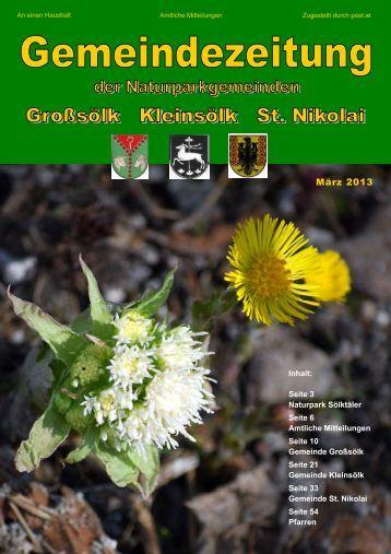 Kleinsölker Gemeinde-Nachrichten - martyria.de