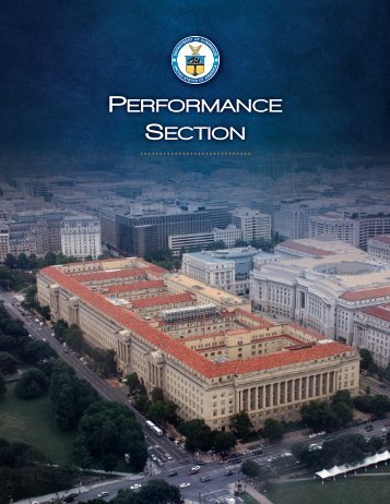 FY 2012 Performance Section - Department of Commerce