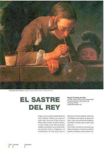 EL SASTRE DEL REY - Instituto Internacional San Telmo
