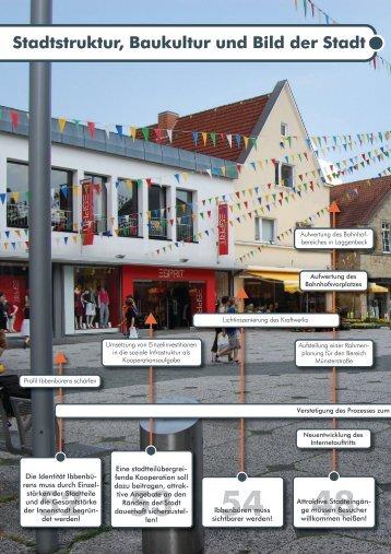 Stadtstruktur, Baukultur und Bild der Stadt - Stadt Ibbenbüren