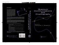 Quantum Communications and Cryptography Quantum ...