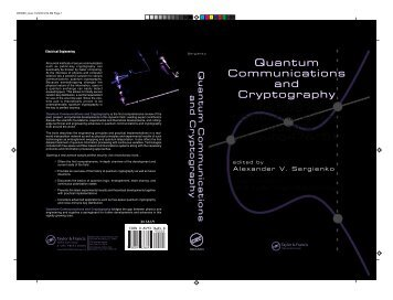 Quantum Communications and Cryptography Quantum ...
