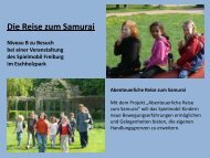 Besuch beim Spielmobil - Paula Fürst Schule