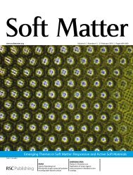 Emerging Themes in Soft Matter: Responsive and Active Soft Materials