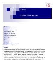 Captador solar de bajo coste - OTRI - Universidad de Sevilla