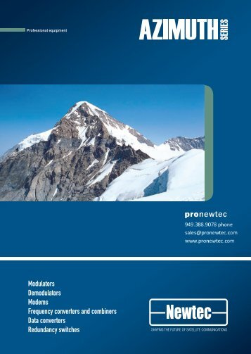 Azimuth Brochure R3/03.2008 - TBC Integration