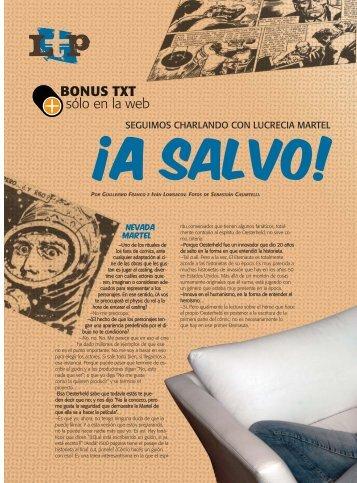 24-27 martel_EXTENSION.qxp - Revista La Central