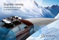 En perfekt vinterdag. - Mercedes-Benz Danmark