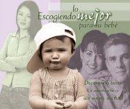 Lo mejor para el bebe - Enfoque a la Familia