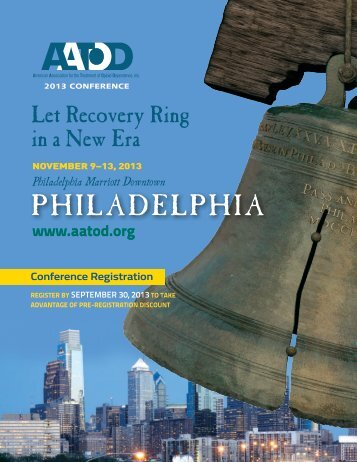 2013 Conference Brochure - aatod