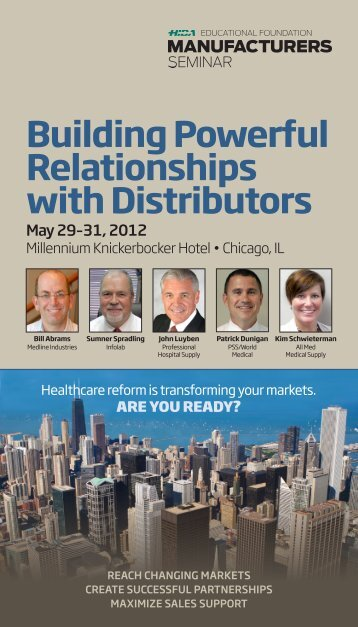 Building Powerful Relationships with Distributors - Hida