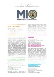 MIO-workshop - Connecting Cultures