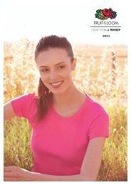Fruit of the Loom 2013 Katalog