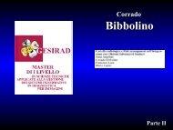 Dott. Corrado BIBBOLINO - Azienda Ospedaliera S.Camillo-Forlanini