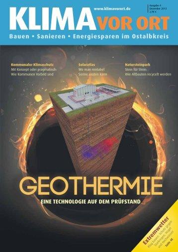 Zeitschrift Klima vor Ort- 4 Ausgabe Dezember 2013