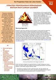strategi pencegahan kebakaran hutan dan lahan gambut - Wetlands ...