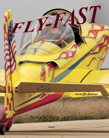 Sport Air Racing League Magazine - FLY-FAST Publications Front ...