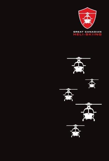Brochure 2012/2013 - Great Canadian Heli-Skiing