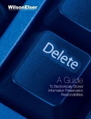 A Guide to Electronically Stored Information Preservation ...