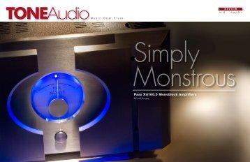 PassXA160.5 Monos Review - Pass Labs