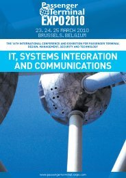it, systems integration and communications - Passenger Terminal ...
