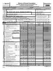 Form 990-PF - Packard Foundation