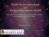 ΛCDM - Harvard University Department of Physics
