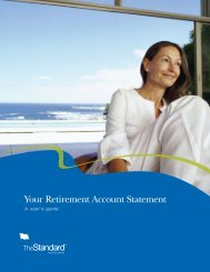 Your Retirement Account Statement - Tulalip Tribes
