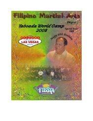 Special Issue - Taboada World Camp 2008 - FMA Informative