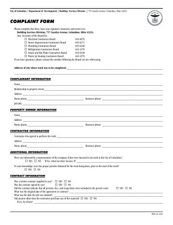 QP03-01 Vetting Short Form - Building Technology Services