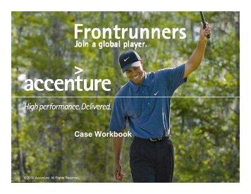 Accenture Casebook - Consulting Ideas