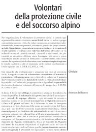 Volontari della protezione civile e del soccorso alpino - UIL Basilicata