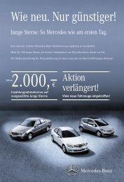 Beileger_Junge Sterne - Mercedes-Benz Niederlassung Augsburg