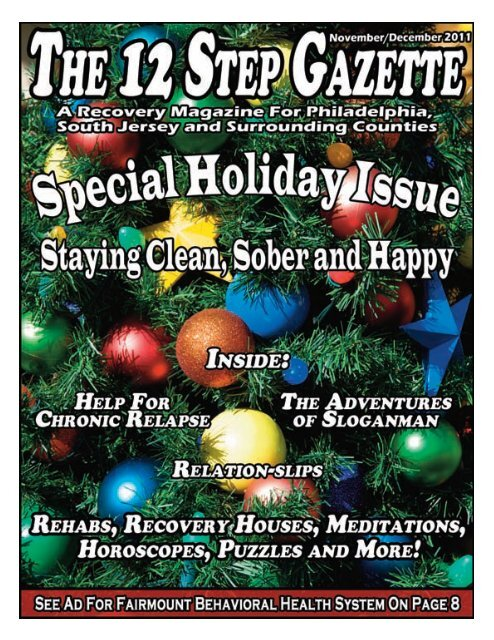 November/December 2011 - 12 Step Gazette