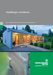 Heidelberger Leichtbeton - HeidelbergCement