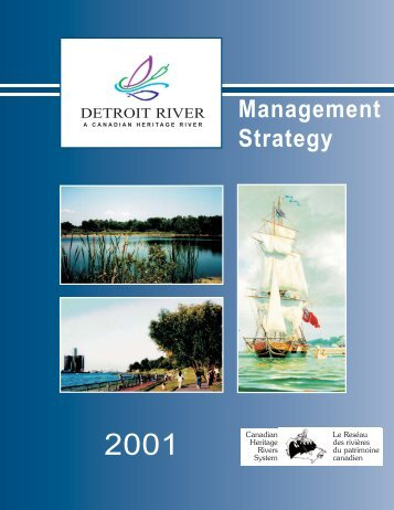 Detroit River Management Strategy - Essex Region Conservation ...
