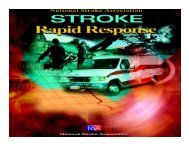© 2006 National Stroke Association 1 - Hunter Ambulance