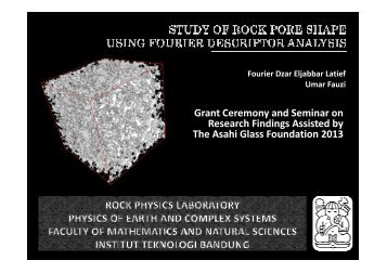 Grant Ceremony and Seminar on Research Findings Assisted by ...